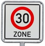 Verkehrsschild 30er Zone