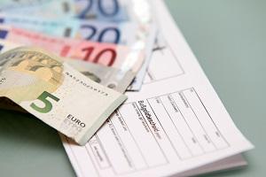 Auf ein Bußgeld folgt eine Mahnung, wenn Sie nicht zahlen.