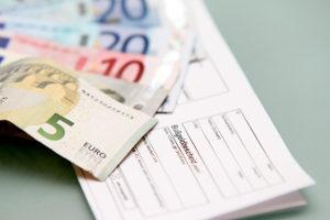 Der Bußgeldbescheid gibt an, welche Sanktion der Bußgeldkatalog für Sie vorsieht.