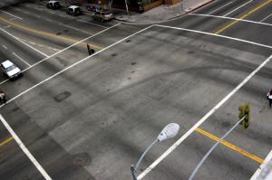 Bußgeldkatalog zum Verkehrsschild grüner Pfeil an der Kreuzung
