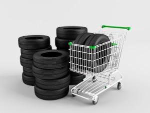 Beim Reifenkauf gibt es eine große Auswahl.