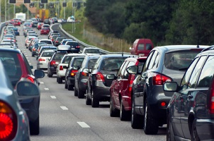 Egal wie viele Spuren die Autobahn hat, die Rettungsgasse wird immer gleich gebildet.