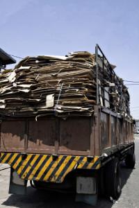 Auch die Überladung bei einem LKW kann Konsequenzen haben