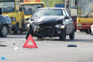 Eine Absicherung vom Unfall sichert den weiteren Verkehr