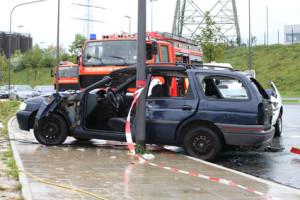 Ein Unfall mit einem Geisterfahrer endet oft tödlich.
